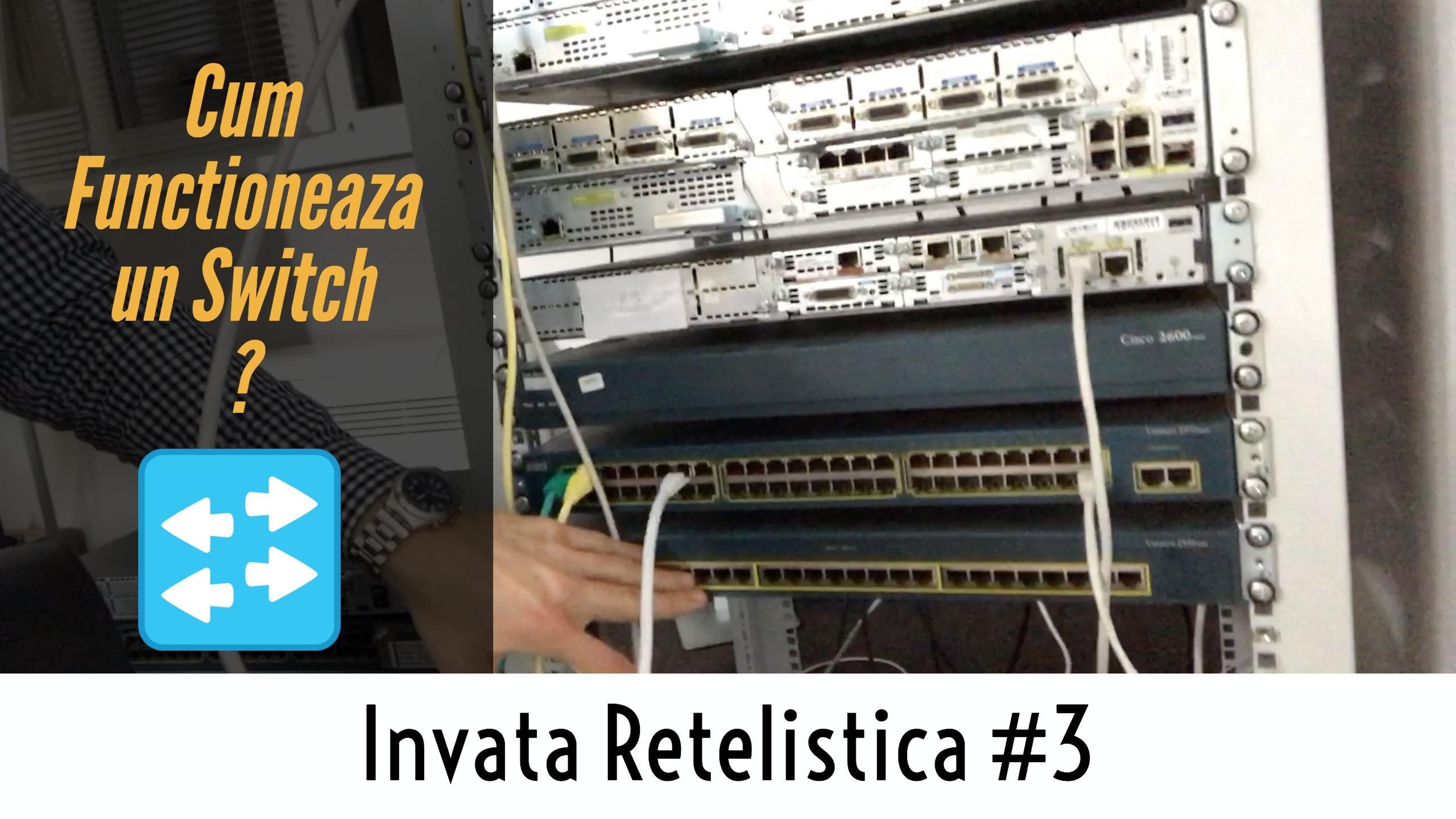⁉️ Ce este un Switch si cum functioneaza un VLAN cu un port Trunk ? | Invata Retelistica #3