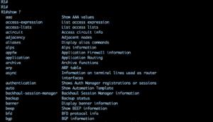 configuratii de baza pe router cisco cu comenzi de show