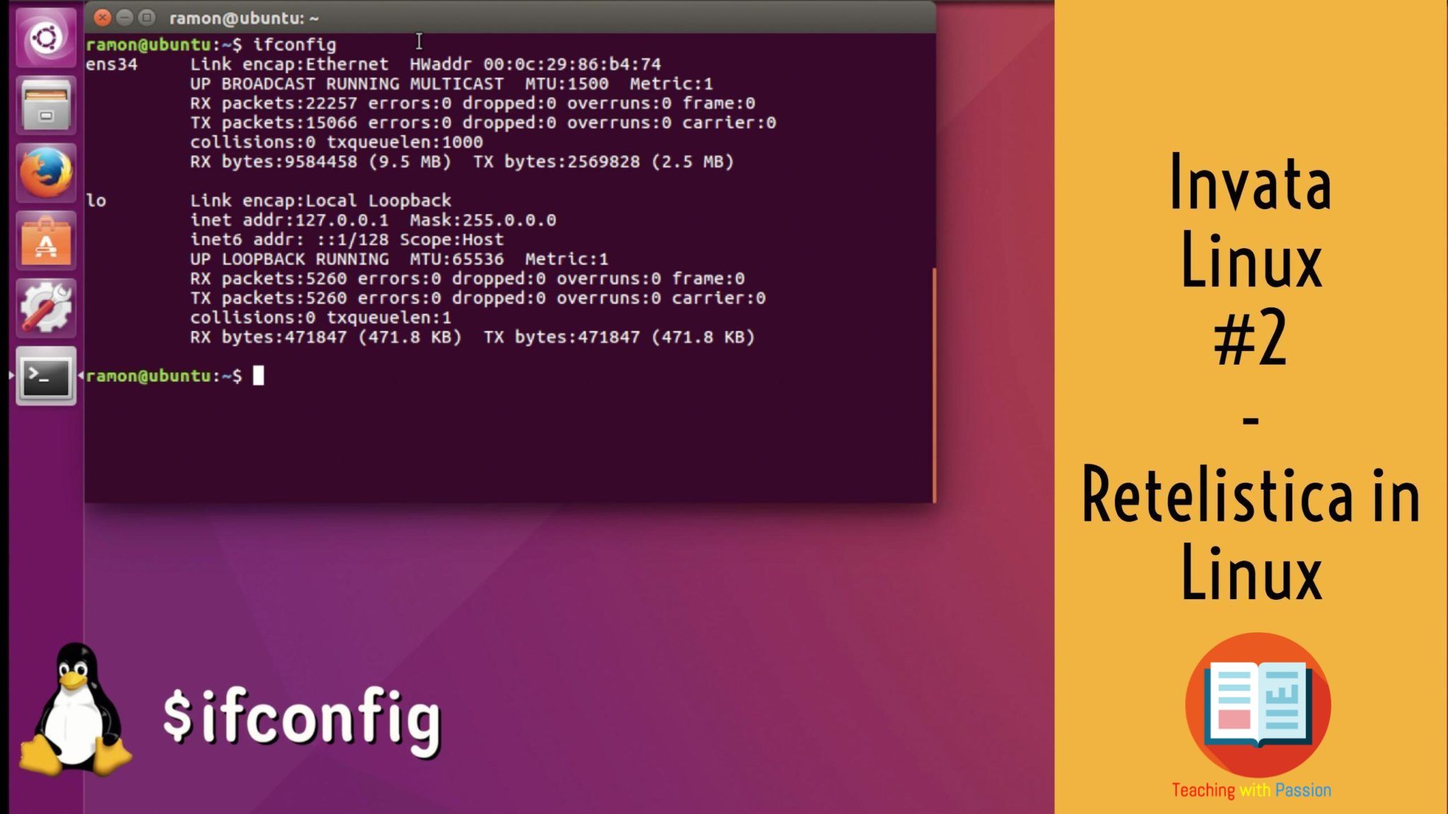 Retelistica in Linux | Setare adresa IP, Gateway si Troubleshooting | Invata Linux #2