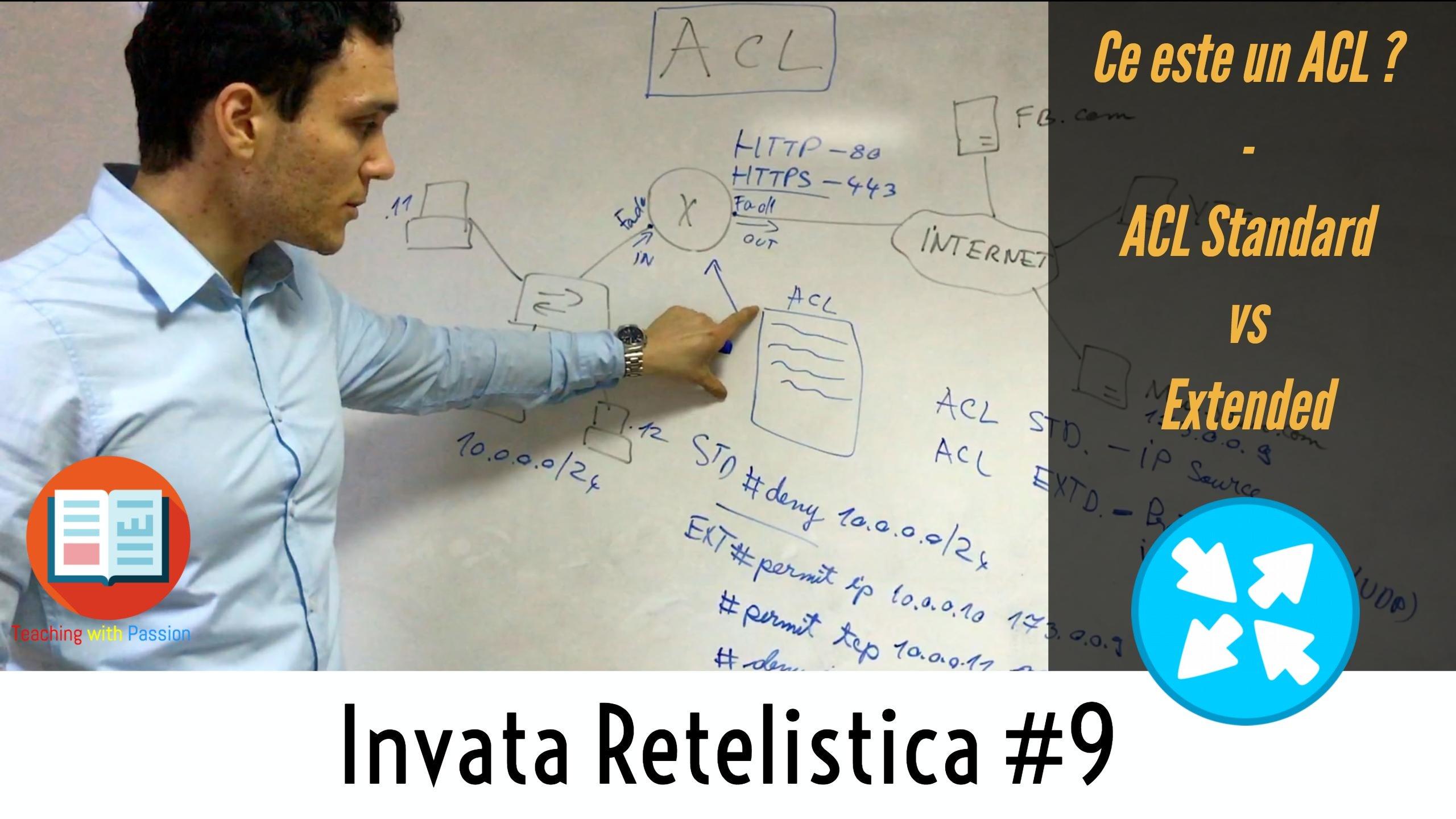 Securitatea in Retea cu ACL (Access Control List) | Invata Retelistica #9