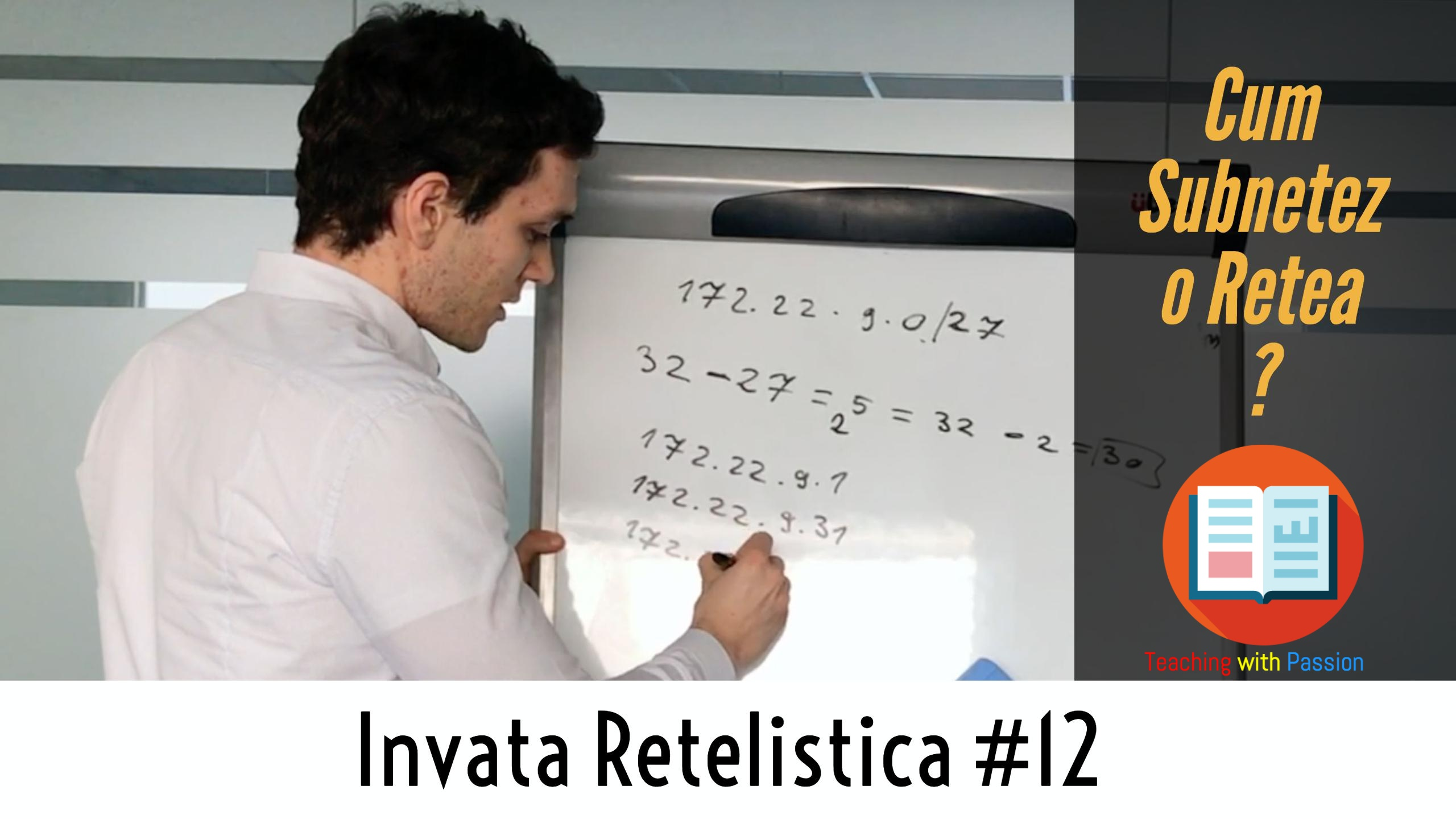🤔 Cum Subnetez o Retea ? | Invata Retelistica #12