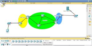 laborator de retele de calculatoare in packet tracer cu ospf