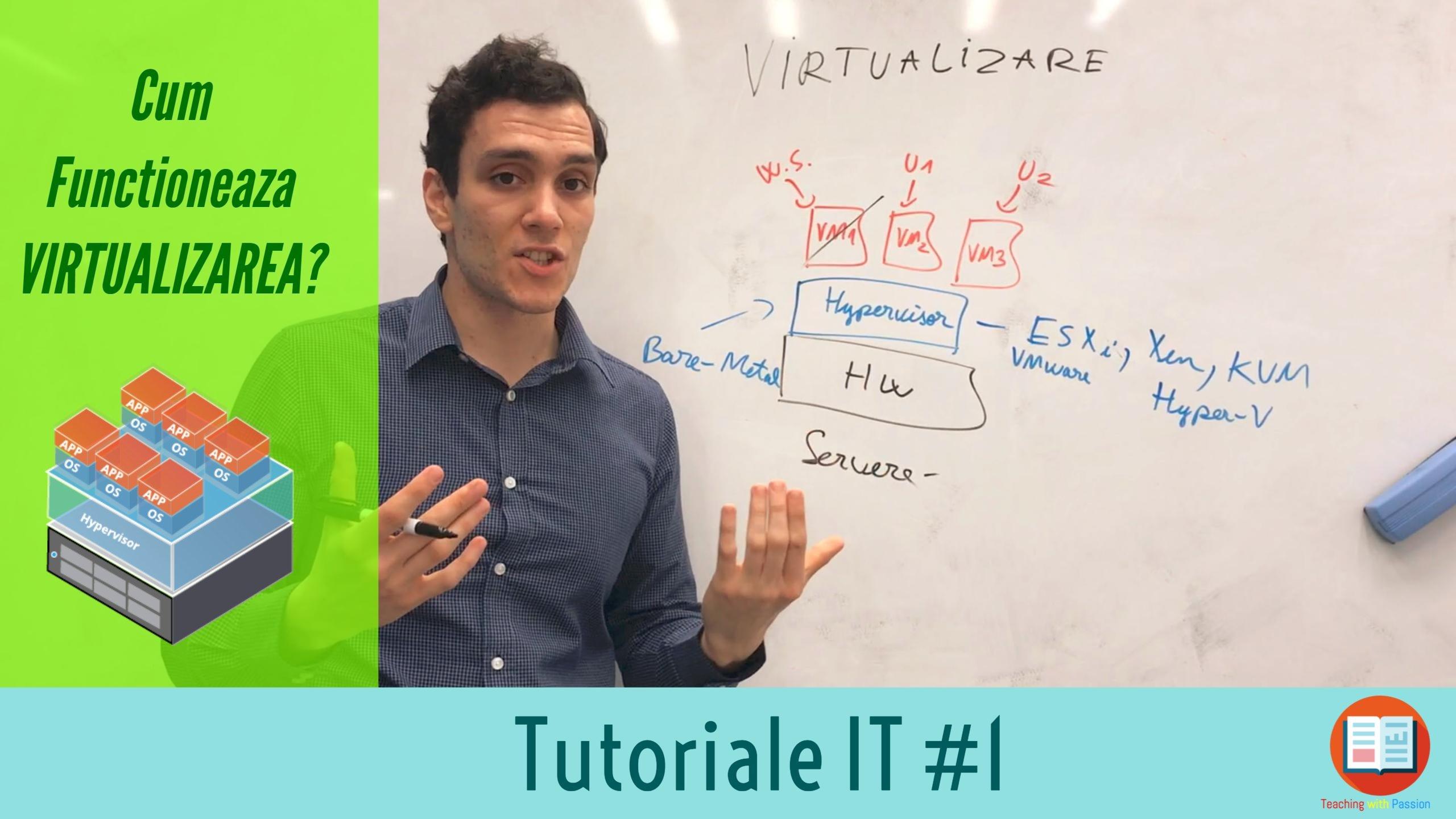 Ce este Virtualizarea si cum Functioneaza pe un Server ? | Tutoriale IT #1