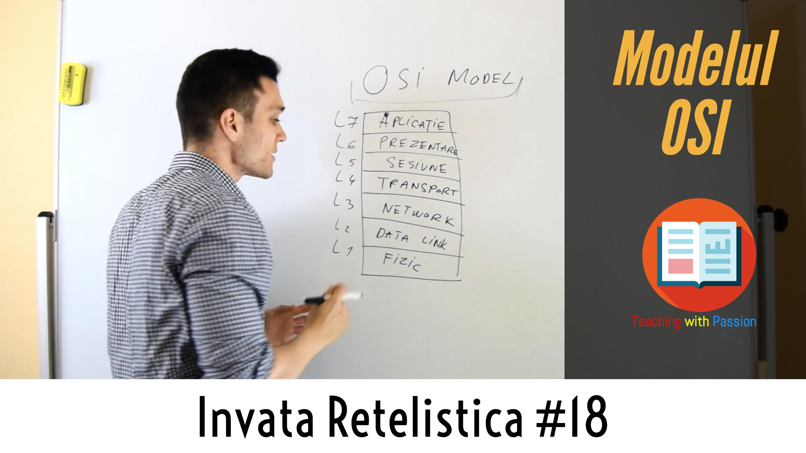 🌍 Ce este Modelul OSI si care sunt cele 7 Nivele ale acestuia ? | Invata Retelistica #18