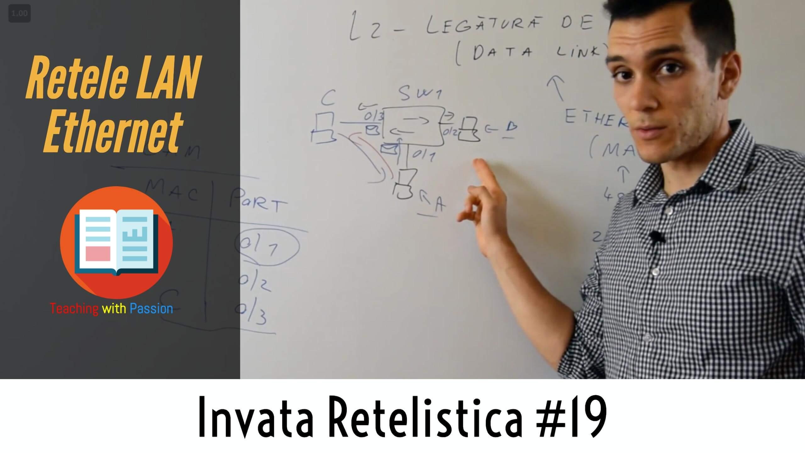 Ce este Ethernet si cum Functioneaza pe un Switch ? | Invata Retelistica #19