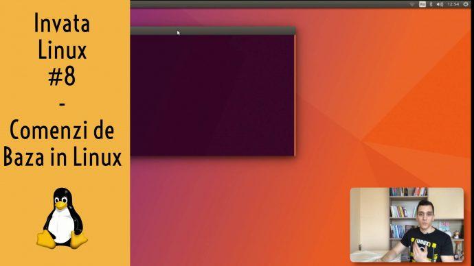 Comenzi de Baza in Ubuntu Linux - Invata Linux #8