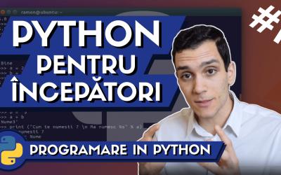 💻 Programare in Python: Tutorial de Programare pentru Incepatori