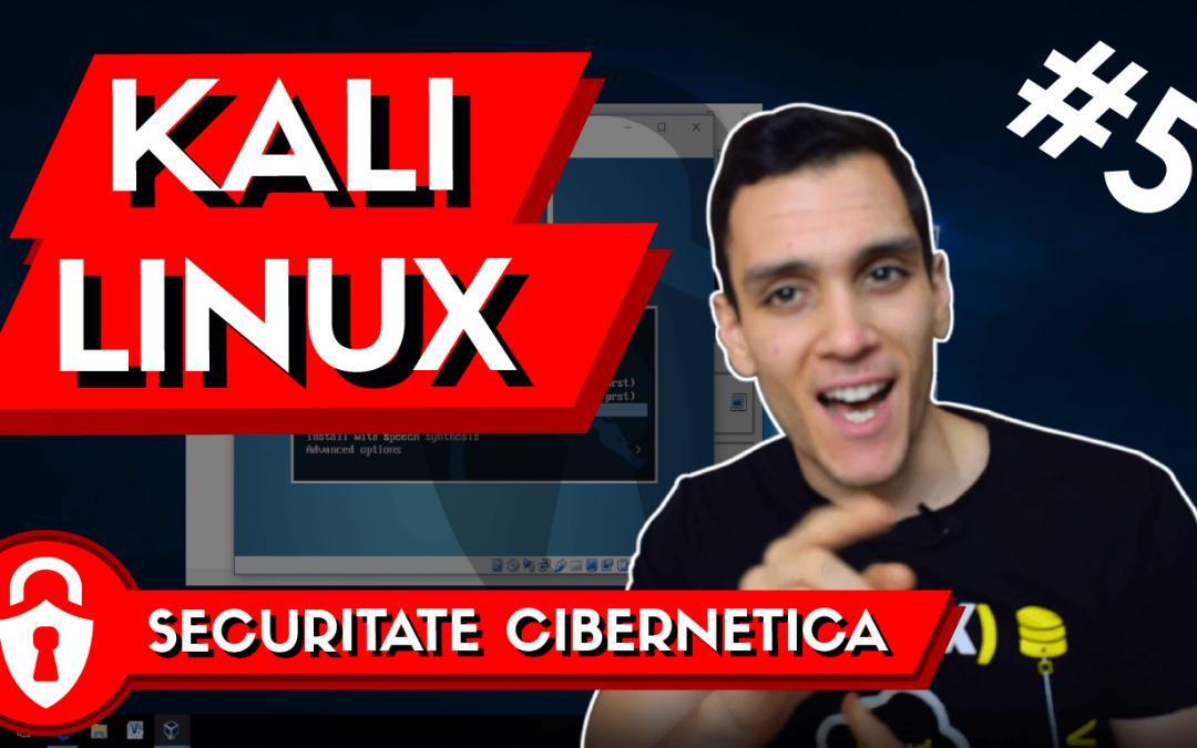 😈  Tutorial Instalare Kali Linux | Distributie de Linux pentru Hackeri | Invata Securitate #5