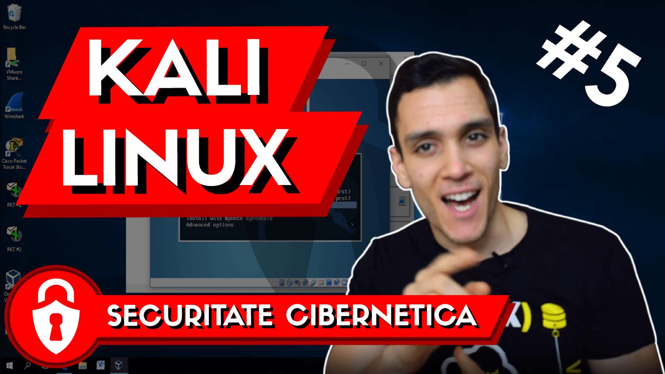 tutorial instalare kali linux