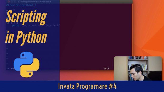 💻 Cum sa faci un Script in Python _ _ Part Invata Programare Ep. 4
