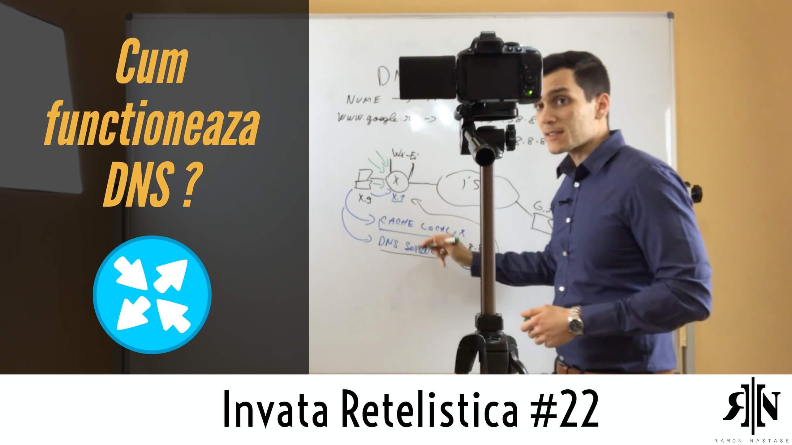 🌍 Ce este DNS si cum functioneaza ? | Invata Retelistica #22