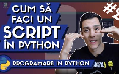 💻 Cum sa faci un Script in Python?