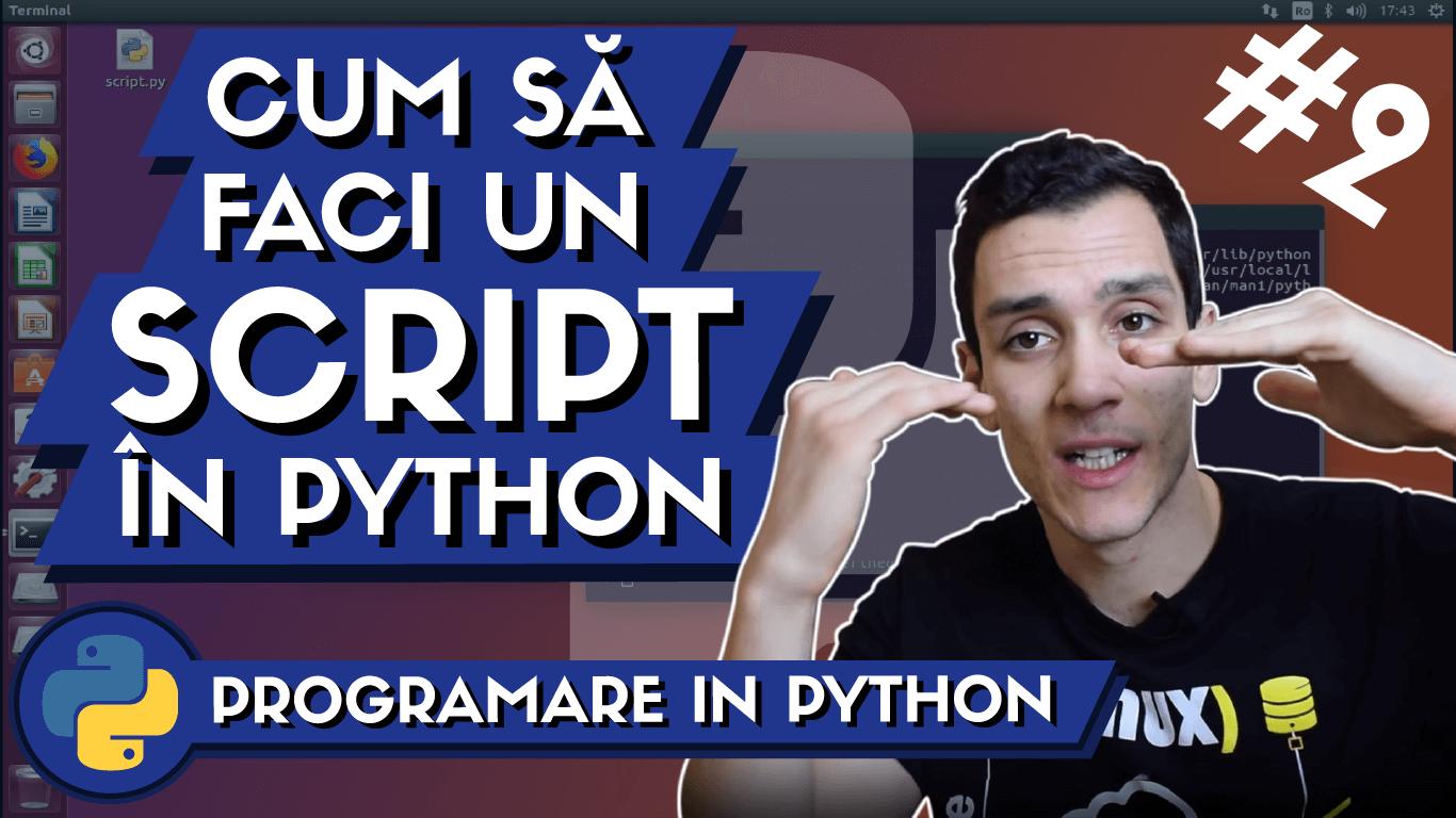 tutoriale de programare in python pentru incepatori