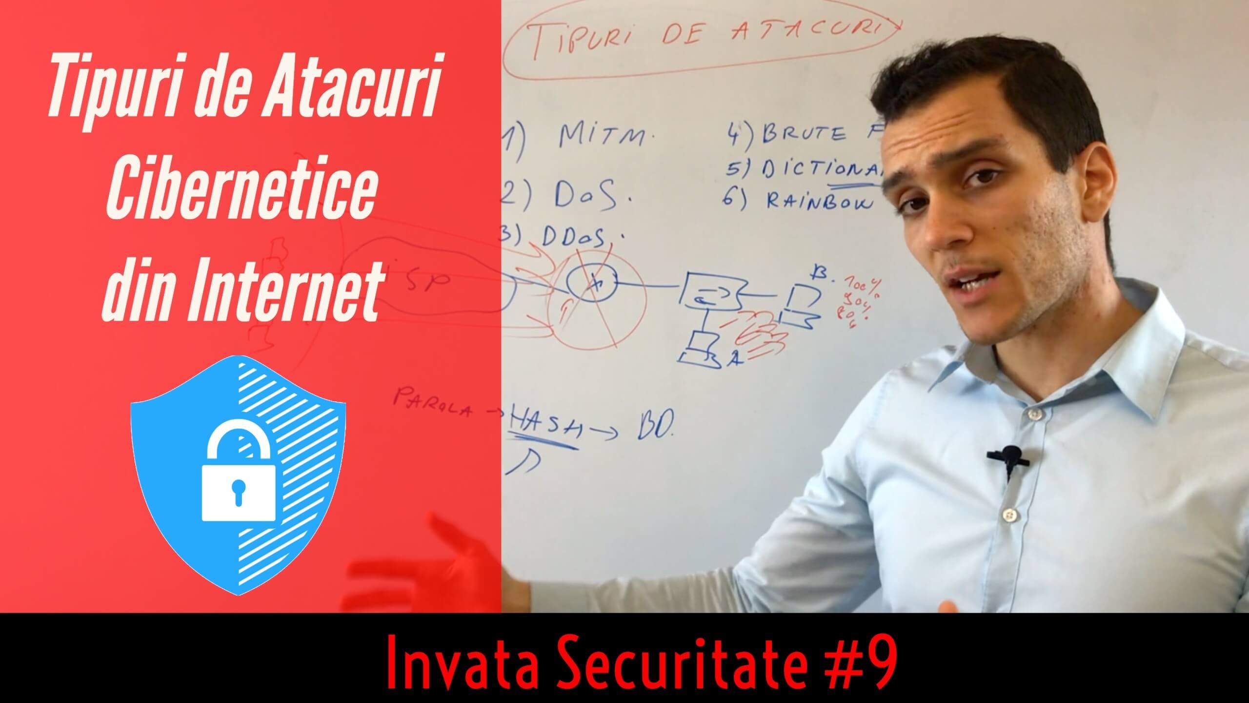 😈 5 + 1 Exemple de Atacuri Cibernetice (metode de Hacking) din Internet ⚔| Invata Securitate #9