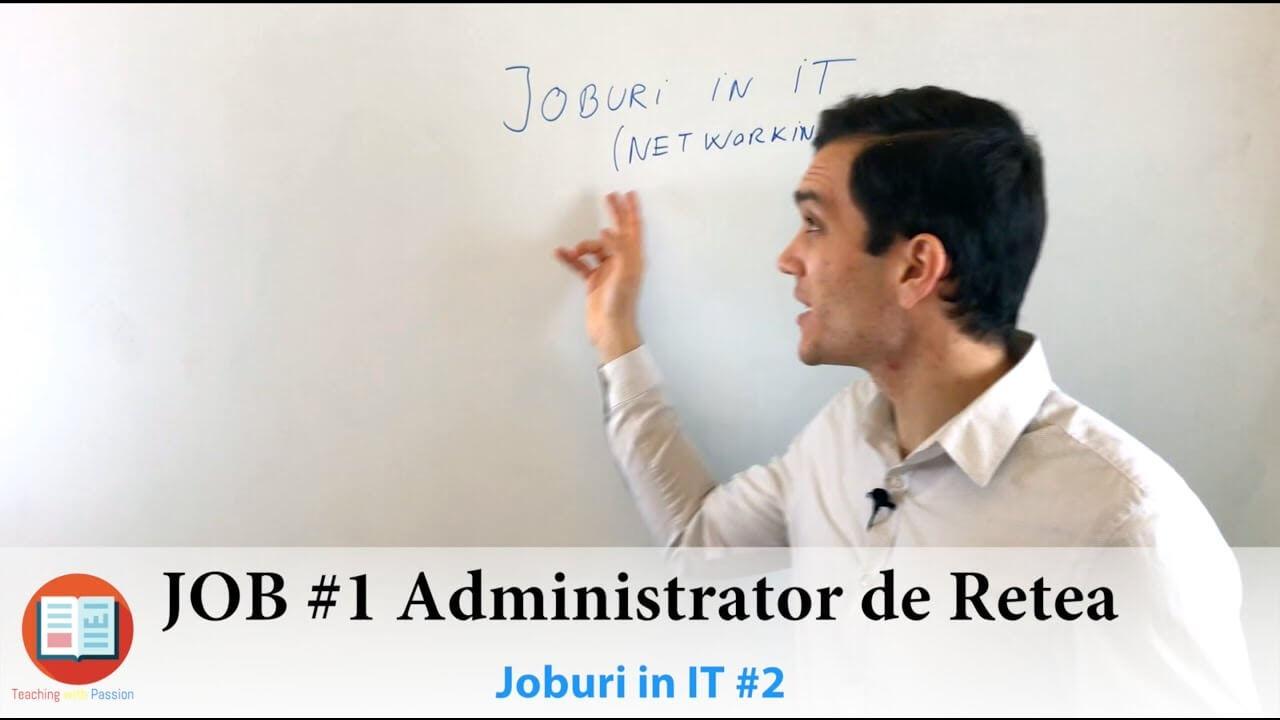 3 Pasi pentru un job in IT ca Administrator de Retea | Joburi in IT #2