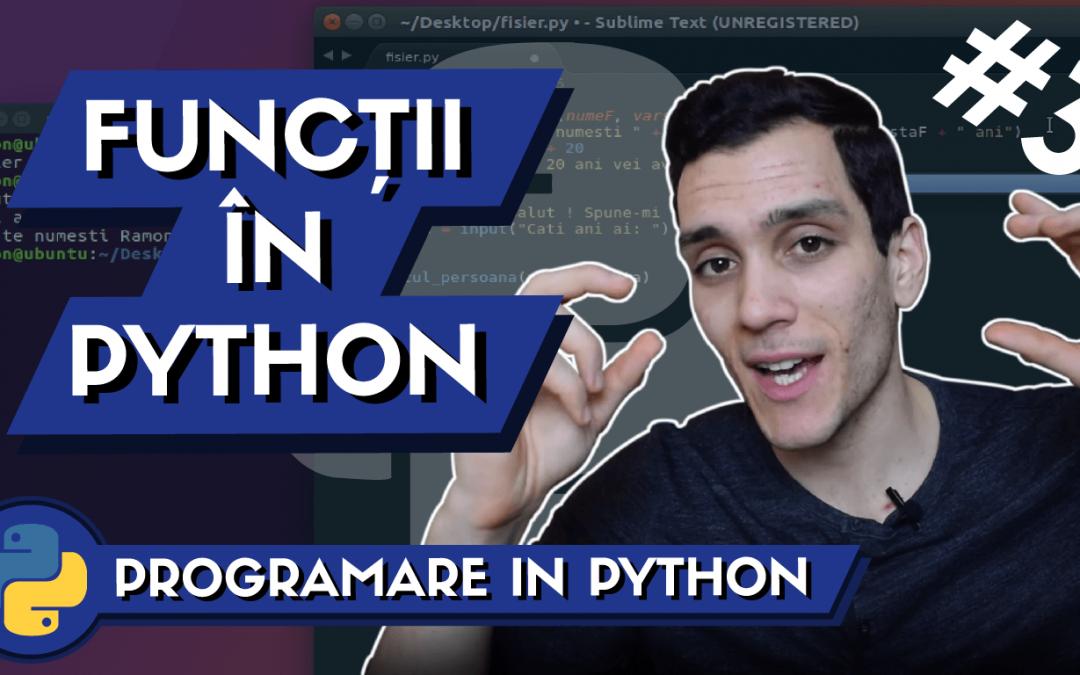 💻 Ce este o Functie in Programare si cum definesti o Functie in Python ? | Invata Programare #3