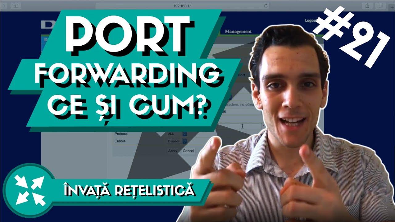 port forwarding ce este
