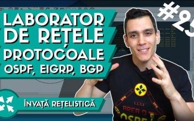 Protocoale de Rutare | Tipuri de protocoale de rutare folosite in Internet | OSPF, EIGRP, BGP
