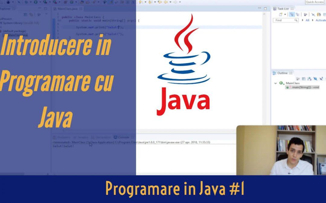 💻 Tutorial de Programare in Java pentru Incepatori | Programare in Java #1