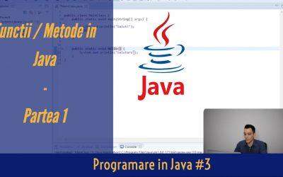 💻 Metode si Functii in Java | Programare in Java #3