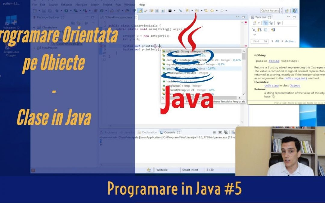 💻 Clase in Java | Programare Orientata pe Obiecte (POO) | Programare in Java #5