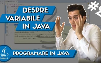 💻 Cum sa Creezi Variabile in Java | Programare in Java #2