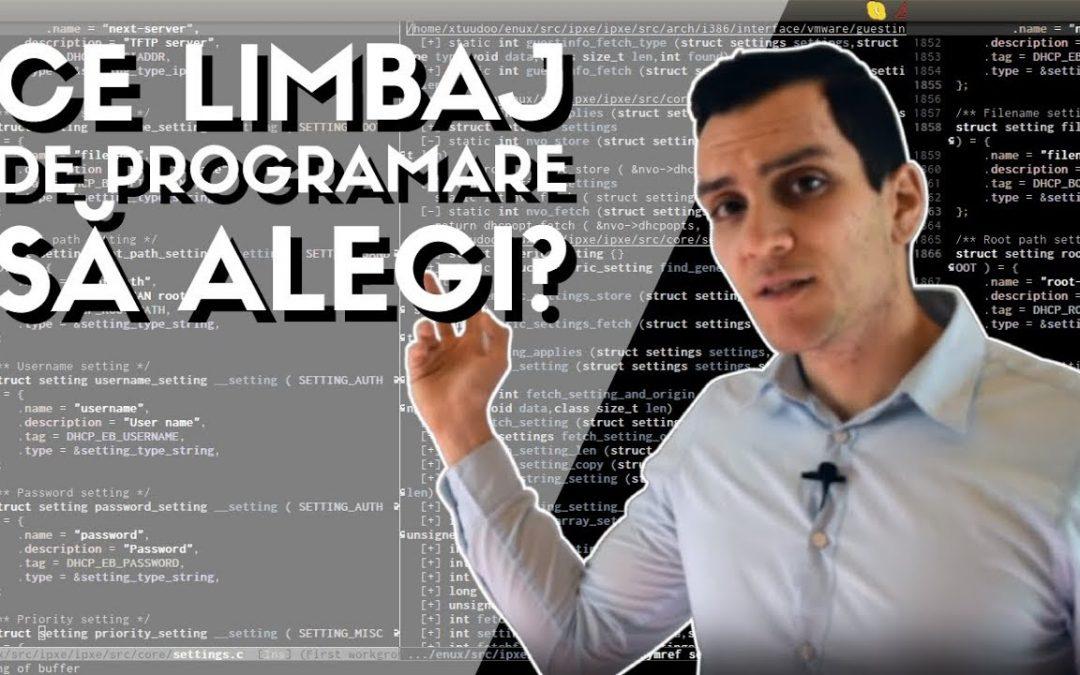 cum sa inveti programare