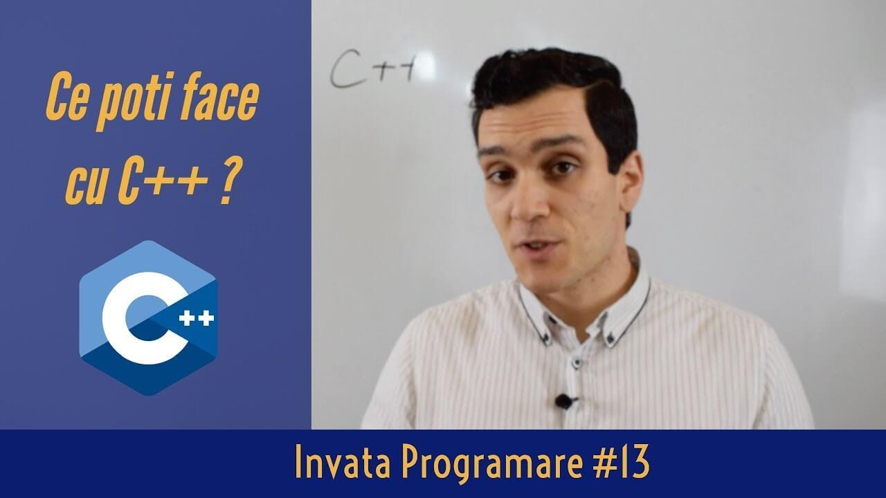 💻 Ce poti face cu Limbajul de Programare C++?