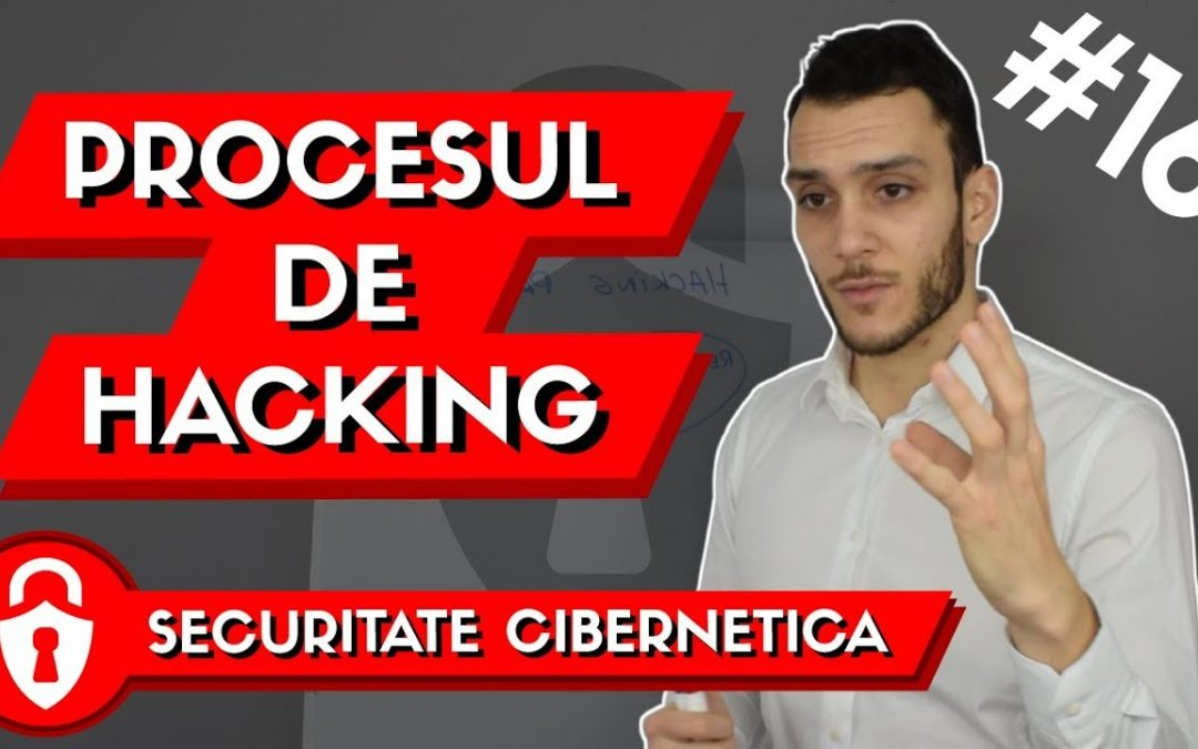 Securitate Cibernetica: Cei 5 Pasi ai Procesulului de HACKING