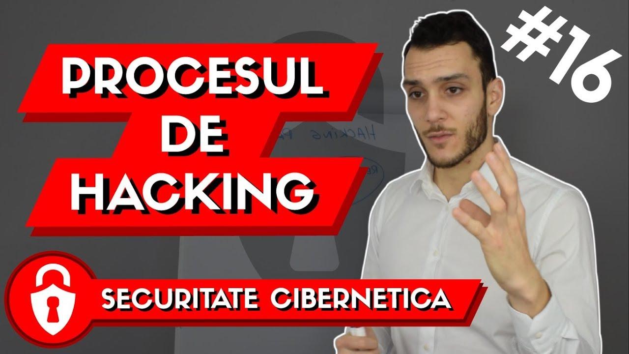 procesul de hacking - securitate cibernetica