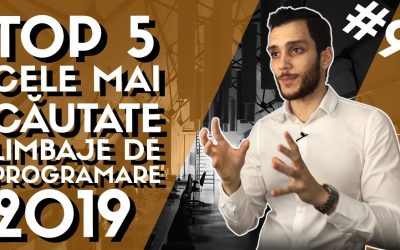🔥[TOP 5] Cele mai CAUTATE limbaje de programare in 2019