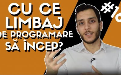 👩💻Cu ce Limbaj de Programare sa incep in IT?