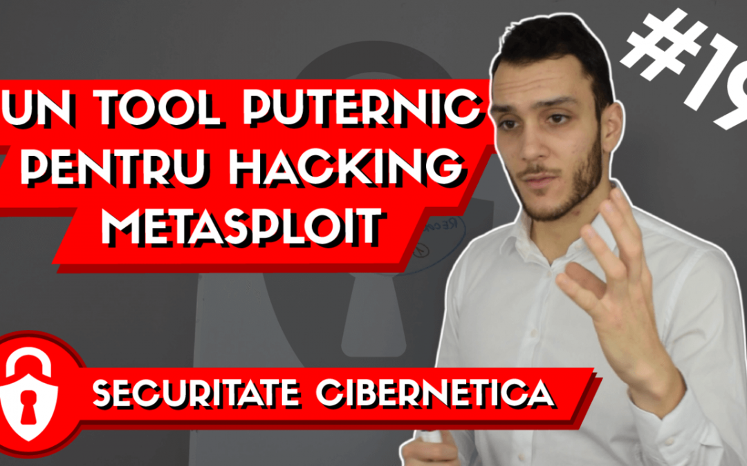 💻 Cel mai puternic TOOL de Hacking | Introducere in Metasploit | Invata Securitate #19